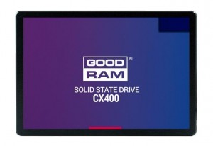 "Goodram CX400 2.5"" 256 GB Serial ATA III QLC 3D NAND"